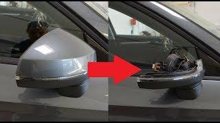 Smontaggio specchietto Audi A3 8V (calotta)