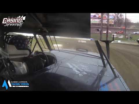 #7 Jon Bublits WISSOTA Street Stock On-Board @ Watertown (5/9/21) - dirt track racing video image
