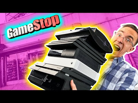 I Bought EVERY Console at GameStop... - UCXGgrKt94gR6lmN4aN3mYTg