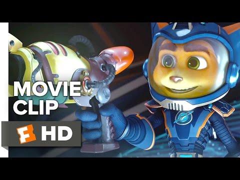 Ratchet & Clank Movie CLIP - Combat Gear (2016) - Rosario Dawson, Paul Giamatti Movie HD - UCkR0GY0ue02aMyM-oxwgg9g