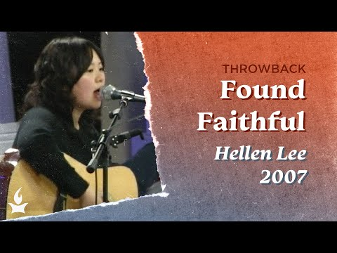 Found Faithful -- The Prayer Room Live Throwback Moment