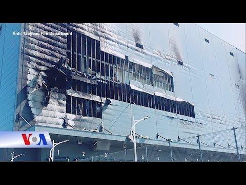 Cháy nhà kho ở Đài Loan, 3 người Việt tử vong (VOA)