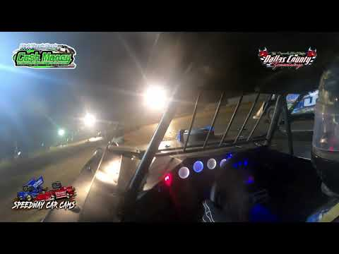 #15A Mike Anderson - Cash Money Late Model - 7-23-2021 Dallas County Speedway - In Car Camera - dirt track racing video image