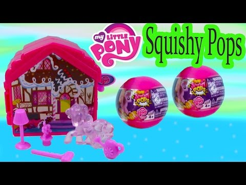 MLP Squishy Pops Mystery Surprise Blind Bag Balls Pinkie Pie Fold-N-Go Playset My Little Pony Review - UCelMeixAOTs2OQAAi9wU8-g