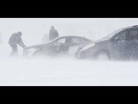Breaking Colorado Springs Bomb Cyclone Blizzard 1,000 Cars Stranded