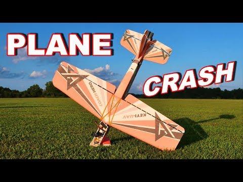 RC Plane Crash - NOSE IMPACT Crash Landing on my NEW RC Airplane - TheRcSaylors - UCYWhRC3xtD_acDIZdr53huA