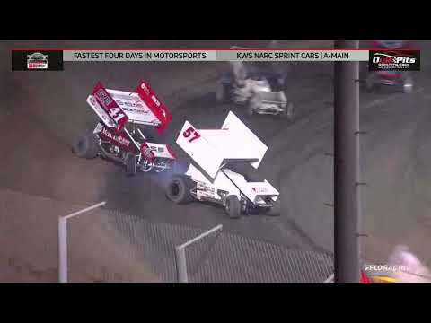 NARC KING OF THE WEST @ MERCED SPEEDWAY - AUGUST 26, 2021 - dirt track racing video image