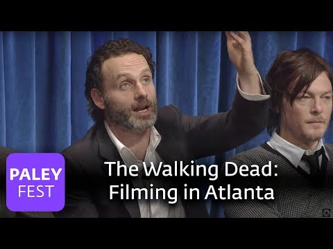 The Walking Dead - Andrew Lincoln Loves Filming In Atlanta - UC4-hGd01KPF1i9xSWtox0JQ