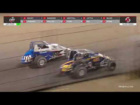 USAC Silver Crown Highlights | Eldora Speedway | 4-Crown Nationals | 9/25/2021 - dirt track racing video image