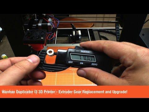 MakerBot Replicator 2 Extruder Drive Block Upgrade for Better