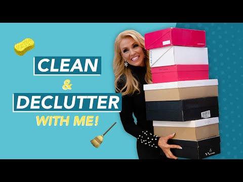 Clean & Declutter with Me  How to Declutter FAST  Get My FREE Book  Terri Savelle Foy