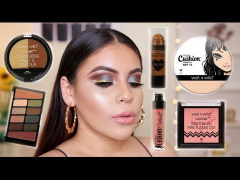 BEST OF WET N WILD 2018: DRUGSTORE MAKEUP TUTORIAL | JuicyJas - UCqTR5f7YkGro3cPv23SqcqQ