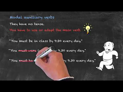 Modals and Passive Voice - Adapting the main verb