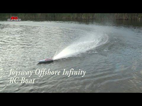 Joysway Offshore Infinity Brushless V hull RC Speed Boat in the park! - UCfrs2WW2Qb0bvlD2RmKKsyw