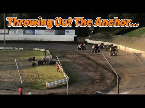 Tanner Holmes 1st to 3rd Heat Race | Skagit Speedway | 360 Sprint Car - dirt track racing video image