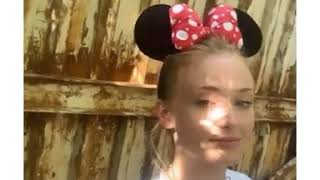 """Sophie Turner""""#SophieTurner today at Disney World"""