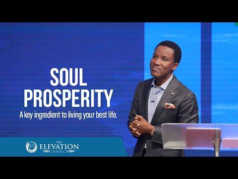 Soul Prosperity: A Key Ingredient to Living Your Best Life (For singles)  Pastor Godman Akinlabi