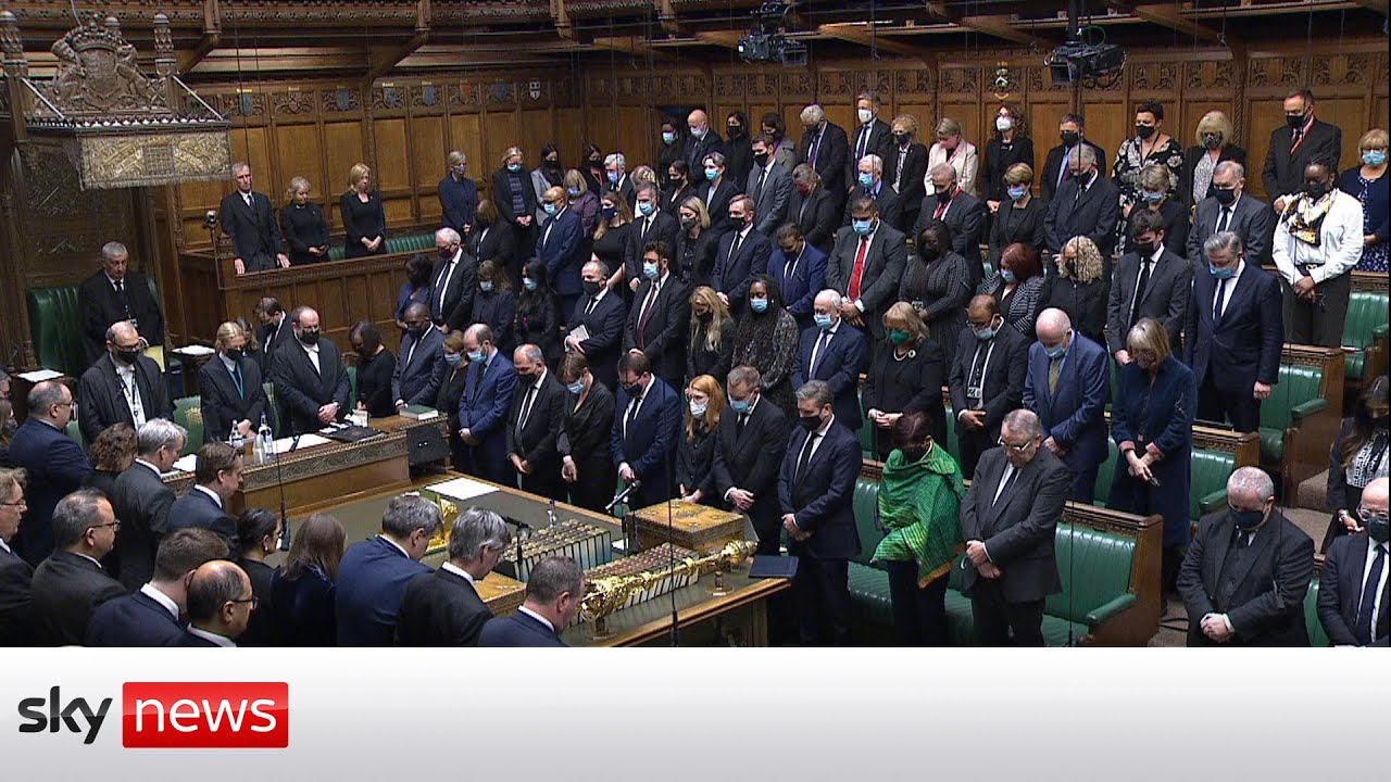 MPs return to the House of Commons to pay tribute to Sir David Amess