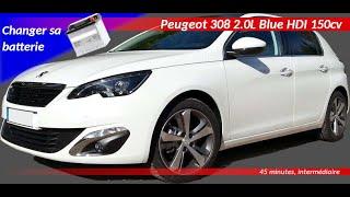 Cambio batteria Peugeot 308-T9 Nuovo Modello