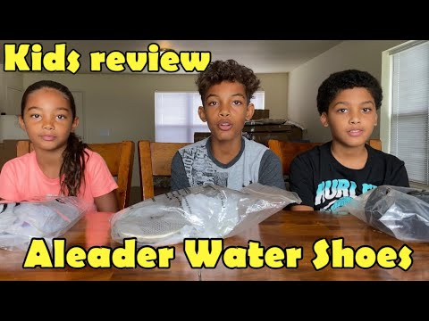 The Kids got their Aleader Water Shoes!!! Aleader Shoes Review | Hiking, Climbing & Water