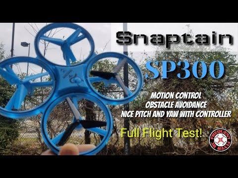 Snaptain SP300 Motion Sensor Obstacle Avoidance Drone - UCNUx9bQyEI0k6CQpo4TaNAw