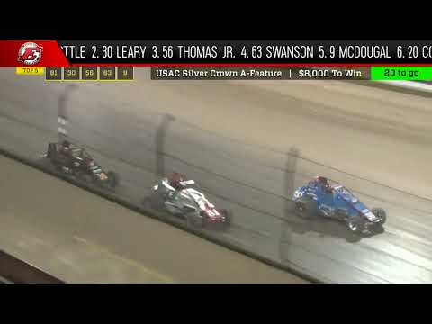 Watch the full race and more at www.Loudpedal.TV! - dirt track racing video image