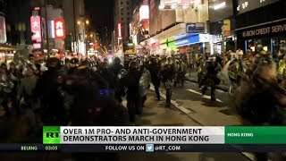 Protests rock Hong Kong for 11th week