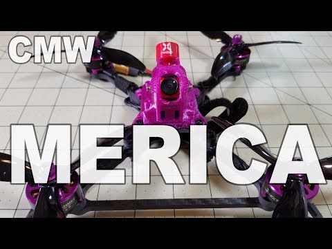 CMW Merica 5-inch Racing Drone Review  - UCnJyFn_66GMfAbz1AW9MqbQ