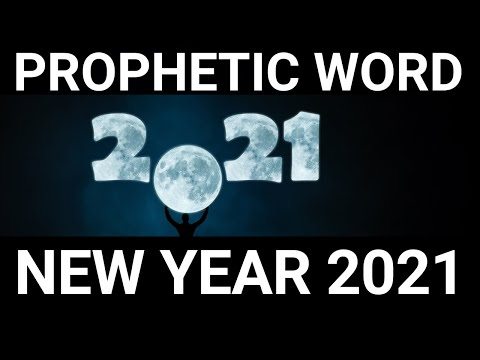 Prophecy for 2021   Prophetic Word for 2021   Restoration