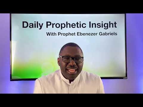 Prophetic Insight - Jan 29th