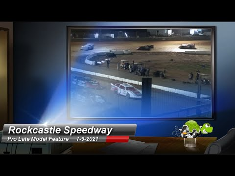 Rockcastle Speedway - Pro Late Models - 7/9/2021 - dirt track racing video image