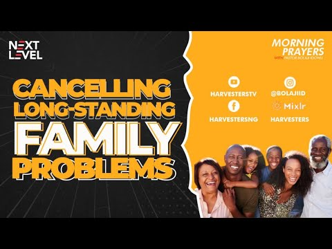 Cancelling Long-Standing Problems  Pst Bolaji Idowu  23rd April 2021