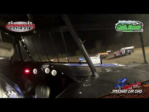 #15A Mike Anderson - Cash Money Late Model - 10-3-2020 Springfield Raceway - In Car Camera - dirt track racing video image