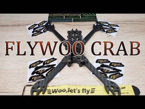 ✔ Новая FPV Рама FLYWOO CRAB 220mm 5 inch, 87g ! Banggood - UClNIy0huKTliO9scb3s6YhQ