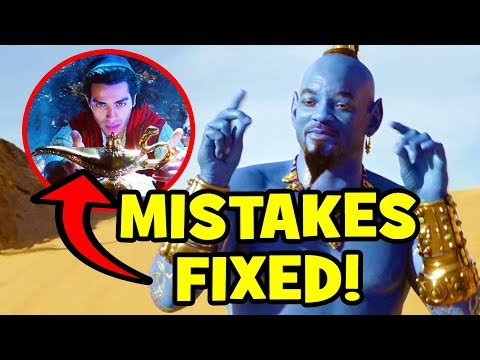 12 Disney Mistakes FIXED In ALADDIN (2019) - UCS5C4dC1Vc3EzgeDO-Wu3Mg