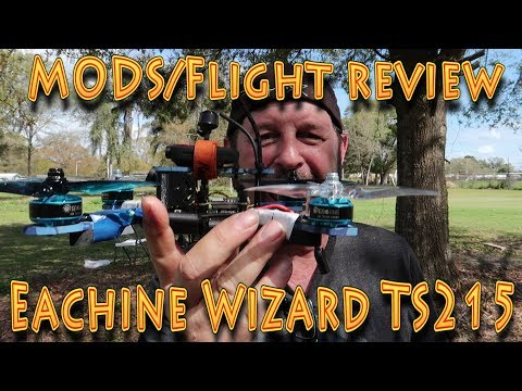 Mods-Review: Eachine Wizard TS215  #FPVRacing Drone!!! (03.02.2018) - UCyMKi7BKzFs5VawA7CU-uGA