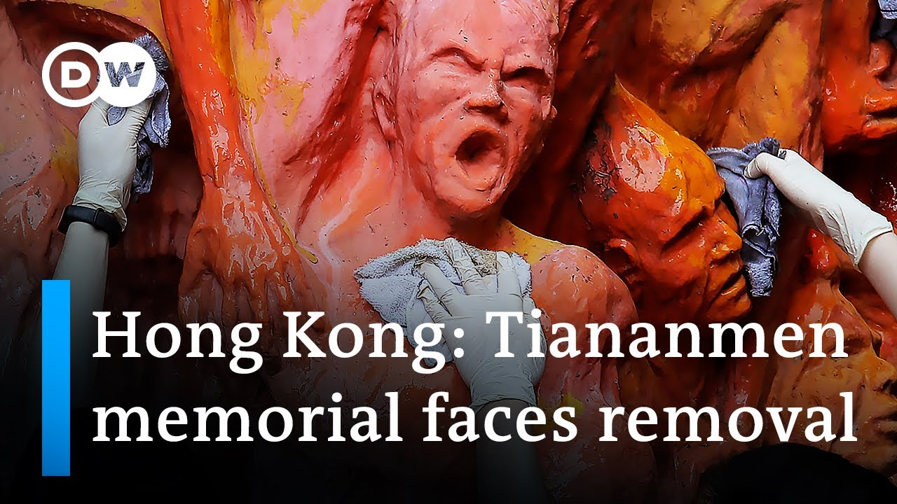 Hong Kong University demands removal of Tiananmen Square sculpture | DW News Asia