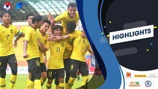 Highlights | U18 Malaysia - U18 Indonesia | 7 bàn thắng kịch tính | VFF Channel