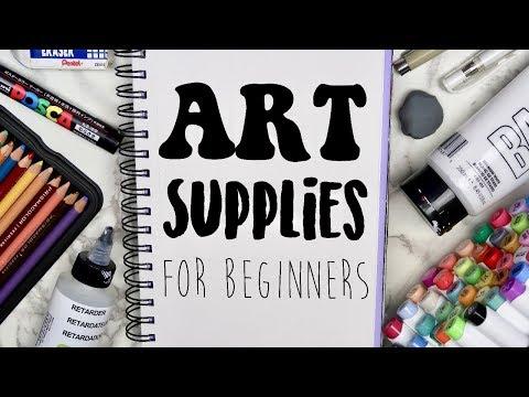 The BEST Art Supplies for Beginners! (2019) My favorite art supplies! 🎨 - UC5L0eW9v0x0vl_dt1n3Zghg