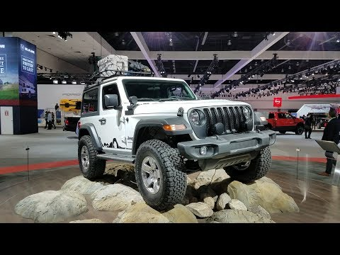 Jeep Debuts The 2018 Wrangler At The LA Auto Show With Less Weight And  Turbo Power