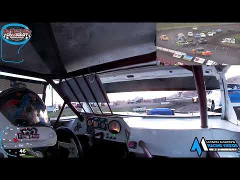 #21 Andrew Jochim IMCA Stock Car On-Board @ RRVS (6/30/21) - dirt track racing video image