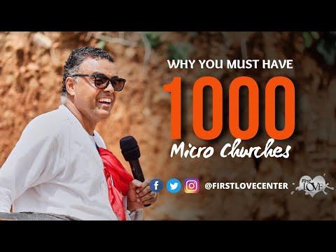 1000 Micro Churches  Dag Heward-Mills