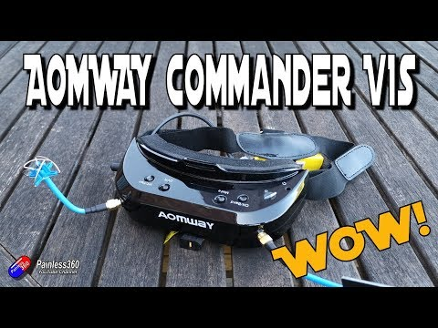 AOMWAY Commander v1s FPV Goggles: One of the best just got better.. - UCp1vASX-fg959vRc1xowqpw