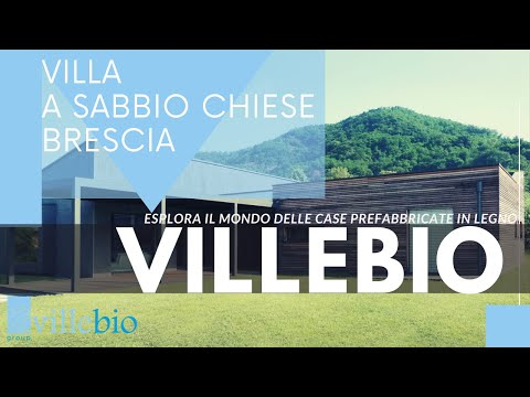 VIDEO VILLA MODERNA SABBIO CHIESE(BS)