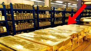 LARGEST Gold Reserves In The World!