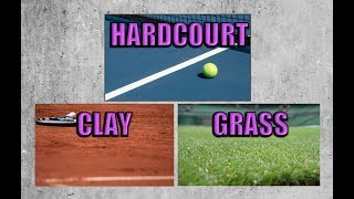 Differences Between Tennis Court Surfaces