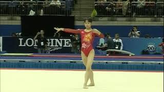 Miki Uemura (JPN) Floor All Around 2009 London World Championships