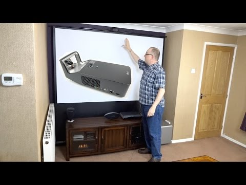 Assembling my Hidden Home Cinema with the LG PF1000U Minibeam Ultra Short Throw Projector (REVIEW) - default