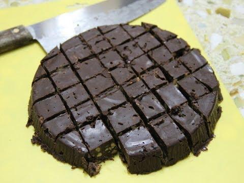 non-baking chocolate cake bánh sô cô la không lò nướng