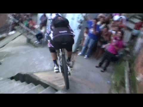 Amazing Downhill Bike Race In Brazil